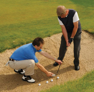 Professional Golf Lessons Bounemouth at Parley Golf Centre